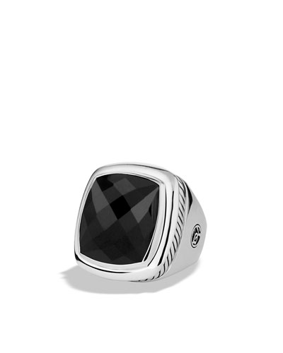 David Yurman Albion Ring with Black Onyx