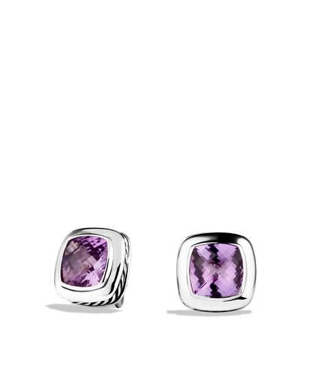 Albion Earrings with Amethyst