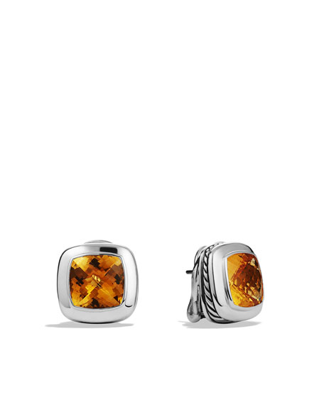 Albion Earrings with Citrine