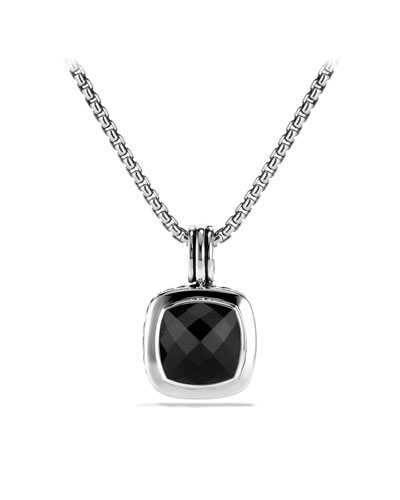 David Yurman Albion Pendant with Black Onyx