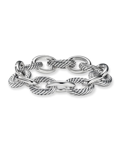 David Yurman Oval Extra Large Link Bracelet