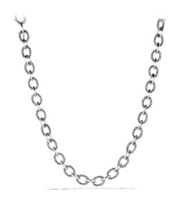 David Yurman Oval Large Link Necklace