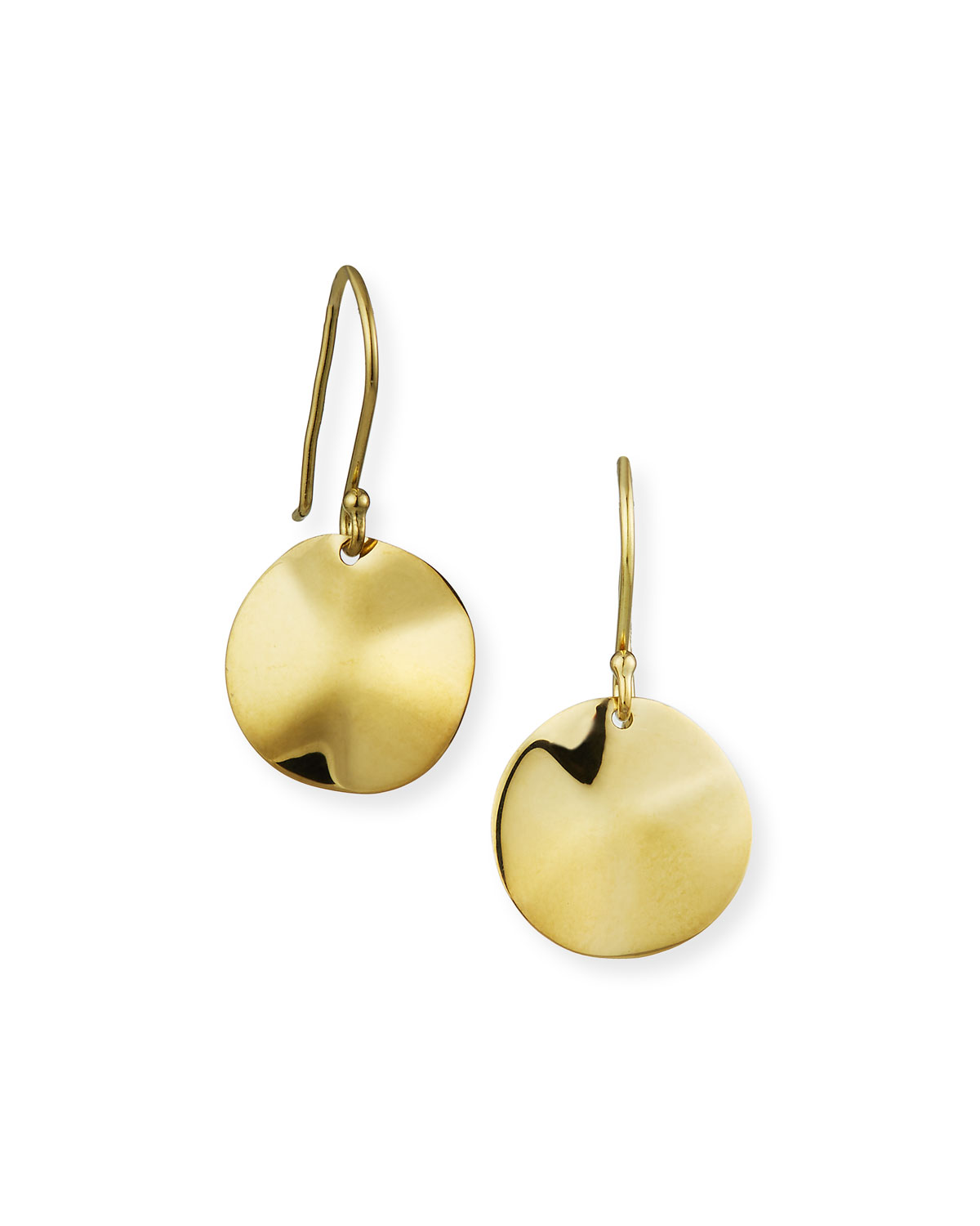 Quick Look Ippolita Wavy Disc Earrings