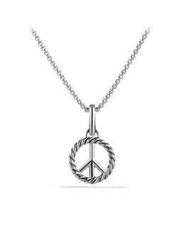 David Yurman Peace Sign Charm