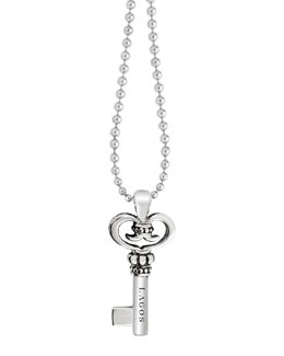 Lagos Key Pendant Necklace