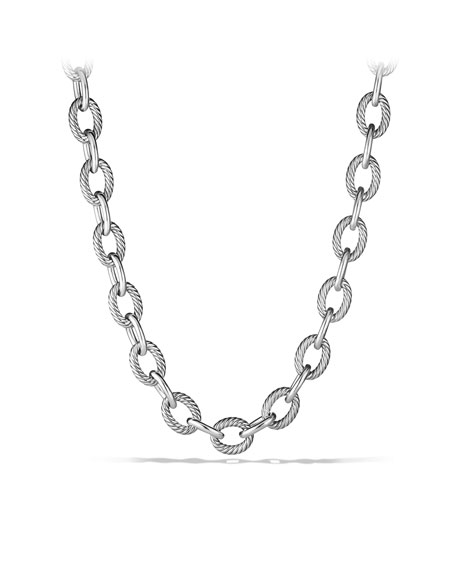 Oval Extra-Large Link Necklace