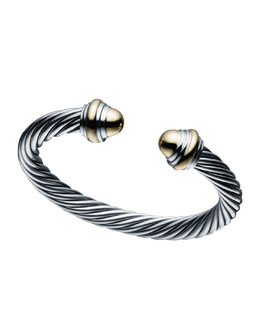 David Yurman 7mm Cable Classics Bracelet Size Large