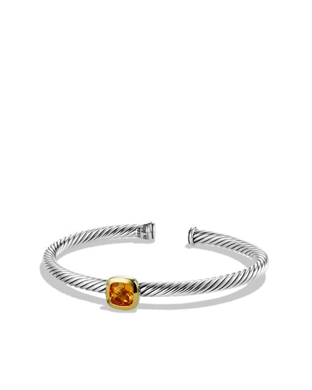 Noblesse Bracelet with Citrine and Gold