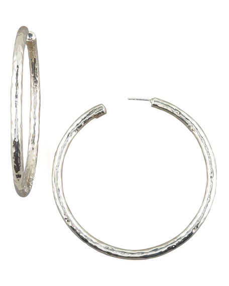 Electroform Hoop Earrings, Large