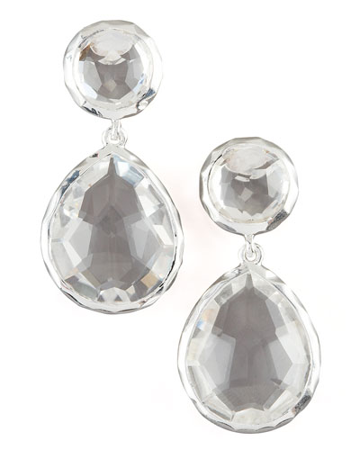 Ippolita Clear Quartz Snowman Earrings