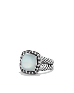 David Yurman 11mm Moon Quartz Moonlight Ice Ring