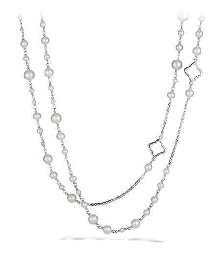 David Yurman Pearl Chain Necklace