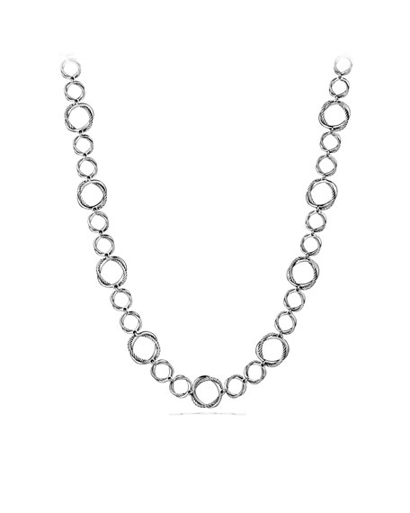 Infinity Necklace, 11mm, 18""