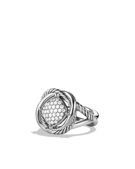 Infinity Ring with Diamonds