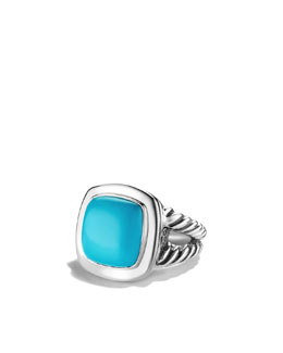 David Yurman Albion Ring with Turquoise