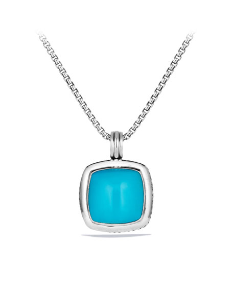 Albion Pendant with Turquoise