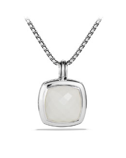 David Yurman Albion Pendant with White Agate