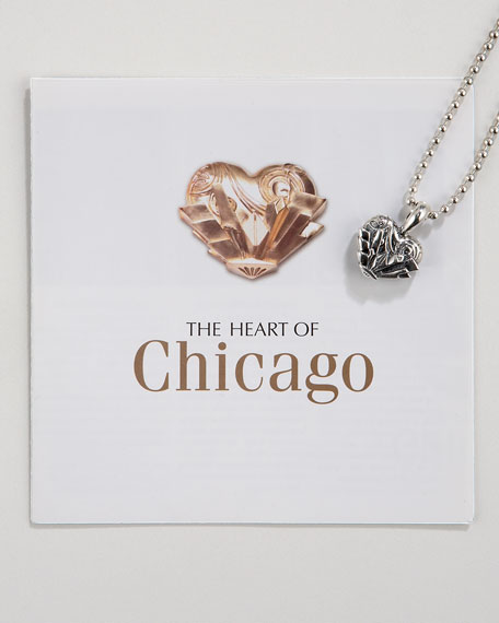 Heart of Chicago Necklace