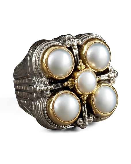 Five-Pearl Ring
