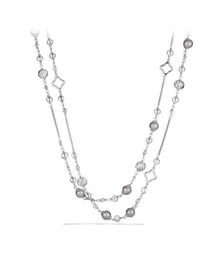 """Quatrefoil Necklace, 48"""""""