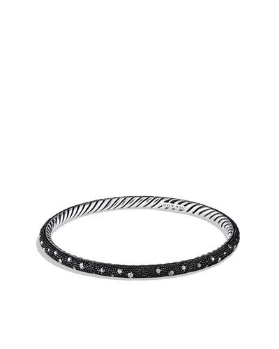 David Yurman Midnight Mélange Bangle with Black Diamonds