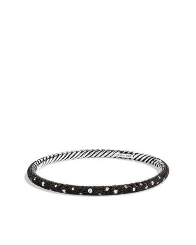 David Yurman Midnight Mélange Bangle with Diamonds