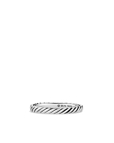 David Yurman Cable Classics Band Ring