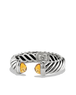 David Yurman Waverly Bracelet with Citrine