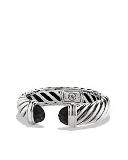 David Yurman Waverly Bracelet with Black Onyx