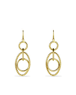 David Yurman Mobile Small Link Earrings in Gold
