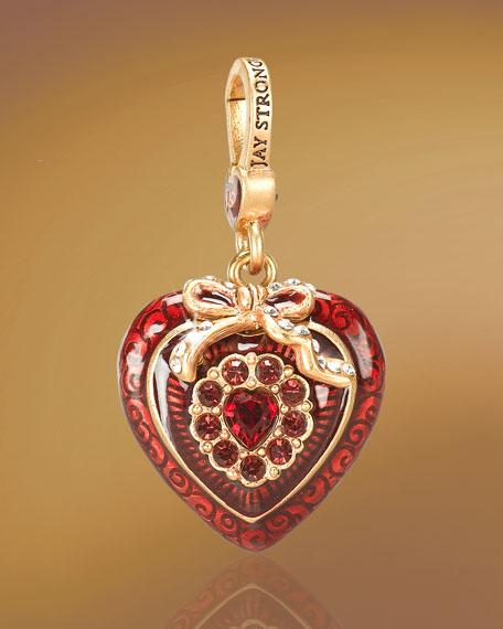"""""""Mina"""" Heart Charm"""