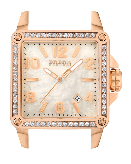 Stella Rose Gold IP Diamond 35mm Head
