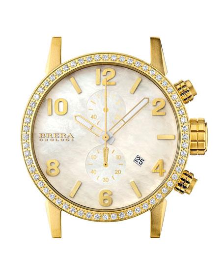 Isabella Diamond Gold Timepiece