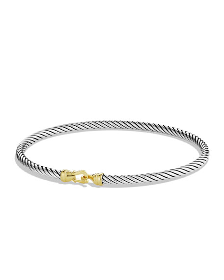 Cable Buckle Bracelet