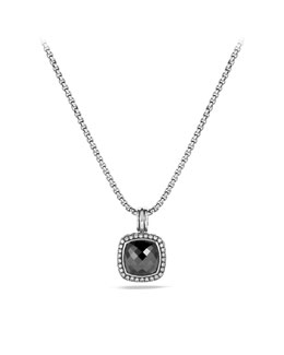 David Yurman Moonlight Ice Enhancer, Hematine, 14mm