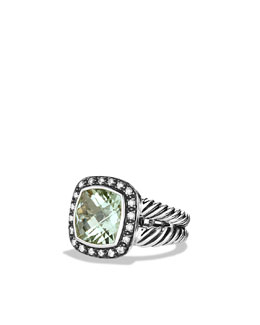 David Yurman 11mm Prasiolite Moonlight Ice Ring
