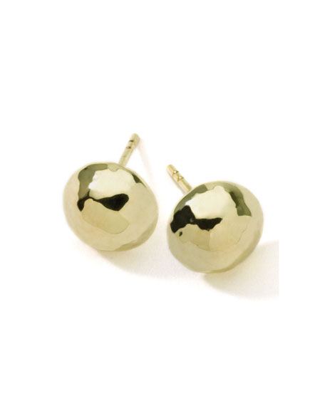 'Glamazon' 18K Gold Hammered Ball Earrings from IPPOLITA