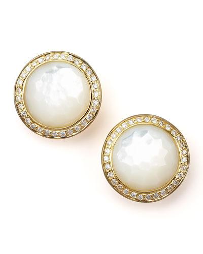 Ippolita Mother-of-Pearl Diamond Earrings