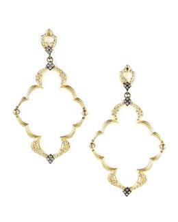 Armenta Open-Frame Earrings