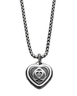 David Yurman Cutout Heart Enhancer