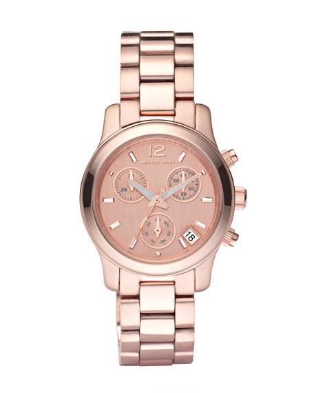 Round Watch, Rose Gold