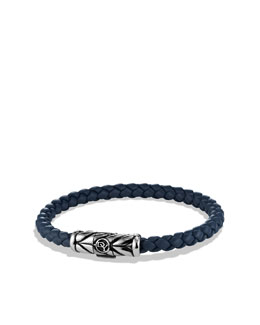 David Yurman Chevron Bracelet in Blue