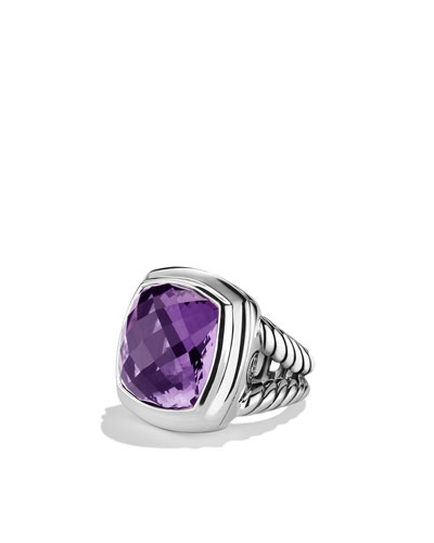 David Yurman Albion Ring with Amethyst