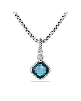 David Yurman Albion Pendant with Turquoise