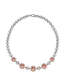 David Yurman Cerise Statement Necklace, Pearls