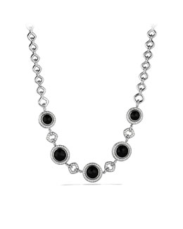 David Yurman Cerise Necklace with Black Onyx and Diamonds