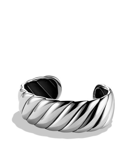 Sculpted Cable Narrow Cuff