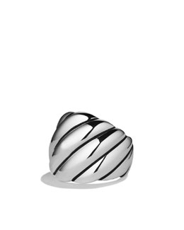 David Yurman Sculpted Cable Ring, Wide