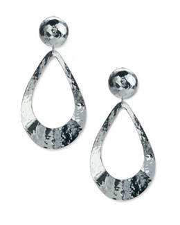 Ippolita Hammered Teardrop Earrings