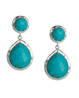 Ippolita Turquoise Snowman Earrings